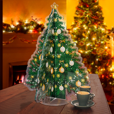 Tabletop Acrylic Christmas Tree