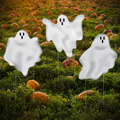 Ghost Lawn Decorations
