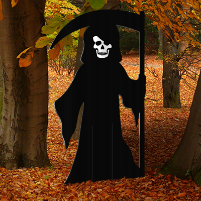 Grim Reaper Lawn Decoration