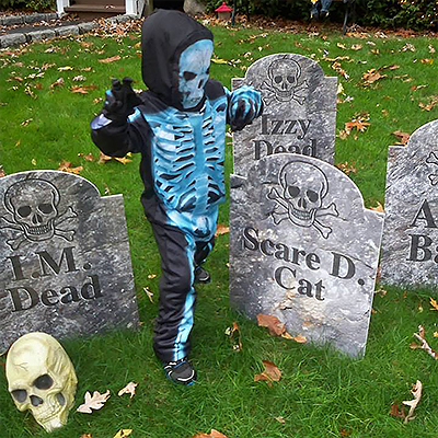 Halloween Custom Coroplast Lawn Sign