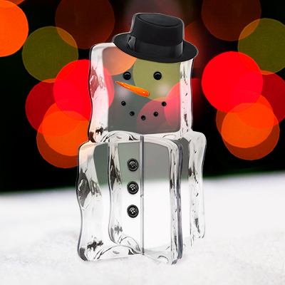 Ice Cube Man Tabletop Decoration