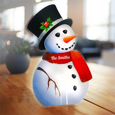 Custom Acrylic Snowman