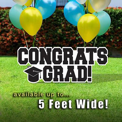 Congrats Grad! Lawn Sign
