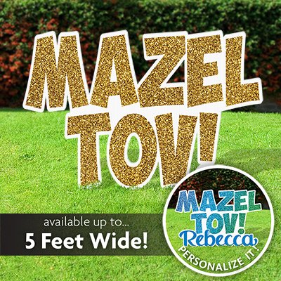 Mazel tov sign