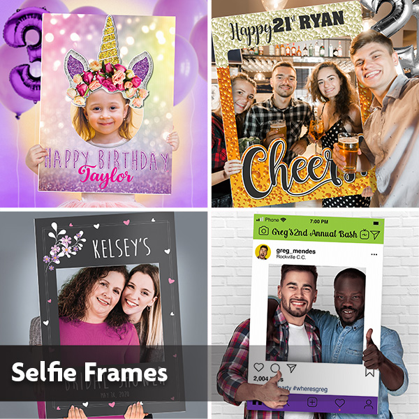 New Year Custom Selfie Frame