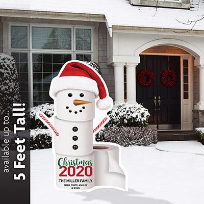 Fun 2020 Christmas Snowman